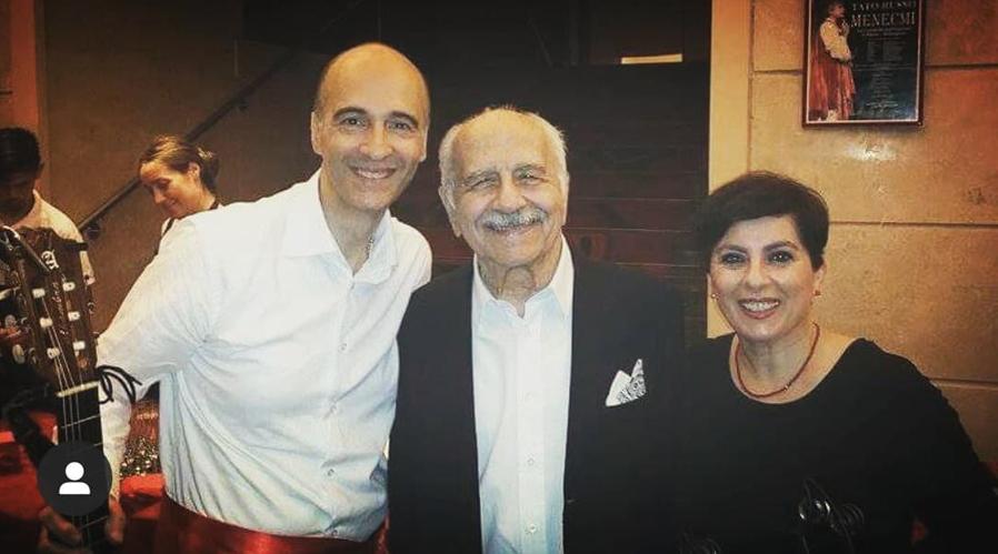 Con Luigi De Filippo